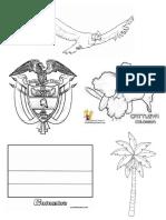 los simbolos patrios dibujos
