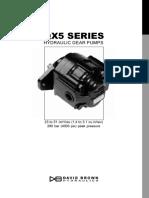 X series pumps