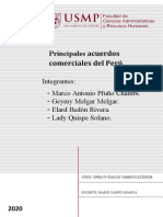 Principales Acuerdos Del Peru