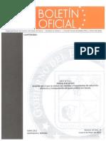 Boletin Oficial del Gobierno del Estado de Sonora del 6 de Mayo del 2013