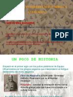 METODO ALEGÓRICO PARA EXPONER