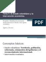 1-2ESTADO COLOMBIANO Y LA INTERVENCIÓN ECONÓMICA