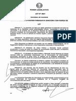 ley vacunas Paraguay