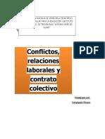 Conflictos y relaciones laborables