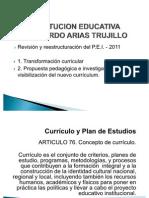 Reestructuración PEI