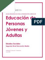 Estudios Sociales EPJA - Nivel 2 EM
