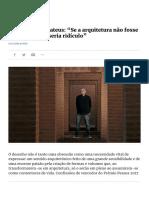 Expresso | Manuel Aires Mateus