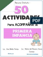 50 ACTIVIDADES PARA ACOMPAÑAR LA PRIMER INFANCIA