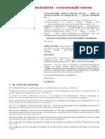 Modelo de Ação Declaratória - compensação valores PIS_PASEP