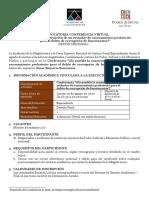 CONVOCATORIA CATEDRA DE LOS JUEVES