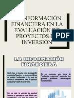 LA INFORMACIÓN FINANCIERA EN LA EVALUACIÓN DE PROYECTOS DE INVERSIÓN