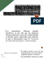 DISIPACIÓN DE RENTAS PARA EXPONER