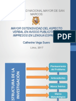MAYOR OSTENSIVIDAD EN AVISOS PUBLICITARIOS IMPRESOS EN LENGUA ESPAÑOLA