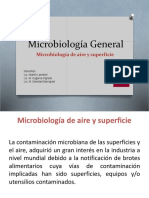 Clase 3- Microbiología Aire y superficie