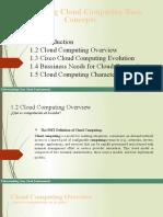 Cloud Computing Presentacion