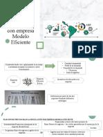 Regulación con empresa Modelo Eficiente 1