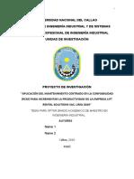 PROY. DE INVESTIGACION -ASESORIA OSMART
