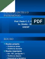 ROUBO, EXTORSÃO E EXTORSÃO MEDIANTE SEQUESTRO.ppt
