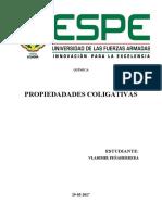 PROPIEDADADES COLIGATIVAS