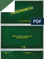 21.RESOLUCION DE TRIANGULOS OBLICUANGULOS - TEORIA