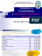 4 Medidas de Dispersión y forma2020-A UNAC