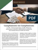 Cumplimiento PLATF Sin Cumplimiento - Ferrando Abogados