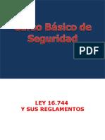 1.- LEY Nº 16.744 y Decreto Supremo Nº 54