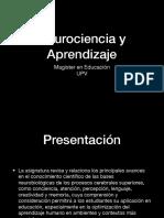 Presentación Neurociencias y Aprendizaje