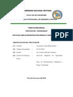 INFOME N°01 PRACTICAS