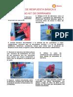 FICHA 9 USO KIT DE DERRAME