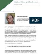 Capítulo 04 - Insulinização no Diabetes tipo 2