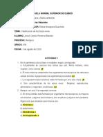 TALLER DE CIENCIAS NATURALES CLASIFICACIÓN DE LOS SERES VIVOS
