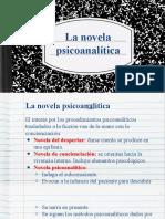 La novela psicoanalítica(1)