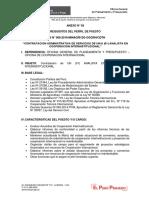 REQUISITOS DE PERFIL CAS 066