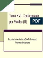 Tema 16 - Conformacion Por Moldeo II (Diapositivas)