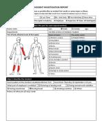 Assessment 1 INCIDENT INVESTIGATION REPORT