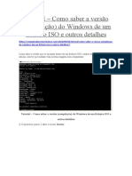 Como pode saber a versão do Windows interna ISO.docx