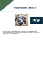 Fonte de alimentação ajustável com LM317 e TIP36C para 10A