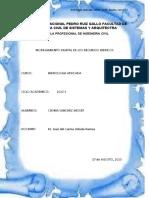 MODELAMIENTO DIGITAL DE LOS RECURSOS HIDRICOS EN LOS RIOS