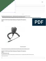 ICOM HM-165 IC-M33 Waterproof Microphone