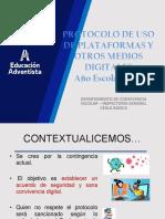 ALUMNOS - PROTOCOLO DE USO DE PLATAFORMAS Y OTROS MEDIOS