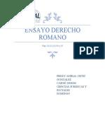 El Derecho romano Ensayo