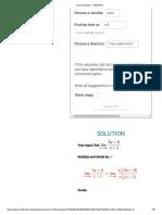 Limit Calculator - eMathHelp