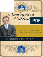 Apologetica Cristiana - Cornelius Van Til
