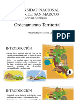Cotrina Ildefonso, Manuel - Ordenamiento Territorial