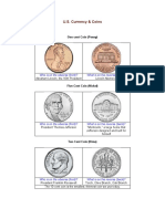 US COINS AND CURRENCY