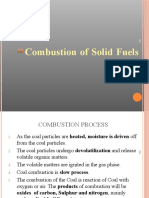 2.Combustion of Solid Fuels