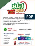 Catalogo Market Express AGOSTO