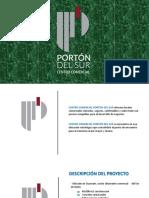 PORTÓN DEL SUR PRESENTACION abril 2020