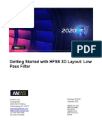 HFSS 3D Layout Low Pass Filter.pdf